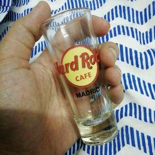 Hard Rock Cafe shot glass madrid