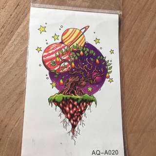 Temporary Body Tattoo Sticker