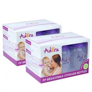 2 x Adora Breastmilk Storage Bottles (6 pcs)