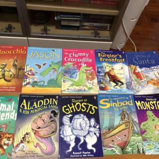 Usborne young reading (Series one x 7 + Series two x 3)