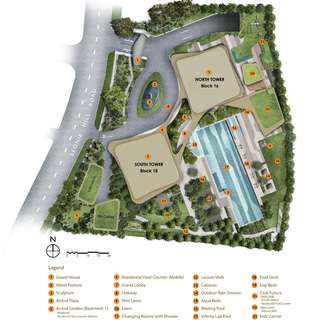 Site plans & facilities: New Futura
