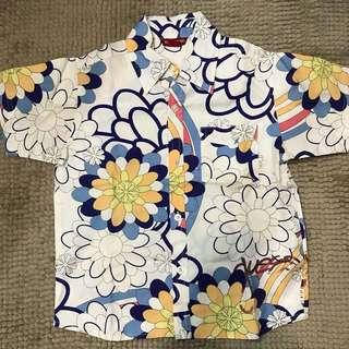 Guess Kid Hawaiian Shirt
