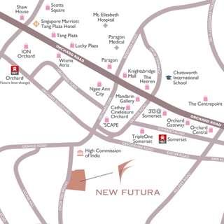 Location & Amenities: New Futura