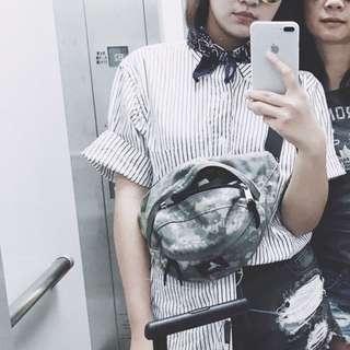 日本古著店購入 條紋短袖襯衫