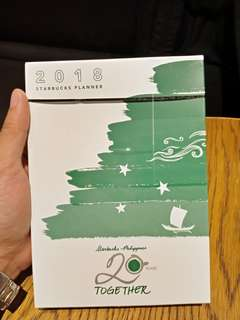 Repriced Starbucks Planner
