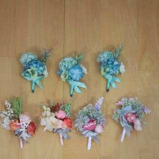 結婚- 高質襟花