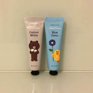 *全新* Missha x Line Friends Hand Cream