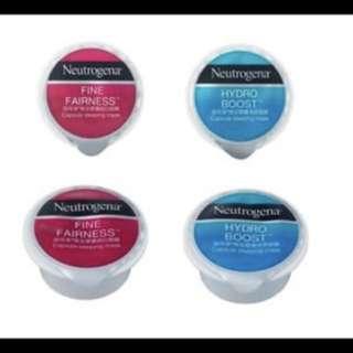 Neutrogena capsule mask hydrogel