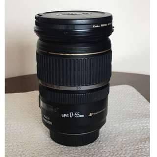 Great all-rounder lens:  Canon EF-S 17-55mm f/2.8 IS USM Lens