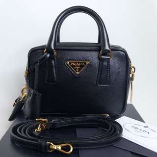 Authentic Prada,Saffiano Mini Bag
