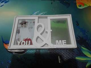 Classy picture frame with mirror