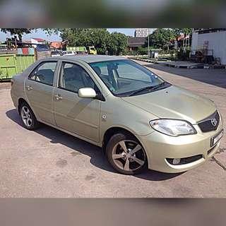 Toyota Vios 1.5(A) yr2006 Call:0174022998 TQ