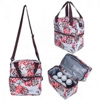 Autumnz Posh Cooler Bag (Henna Pink Brown)