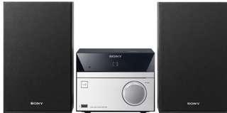 Sony Bluetooth Hifi Audio System CMT-SBT40D