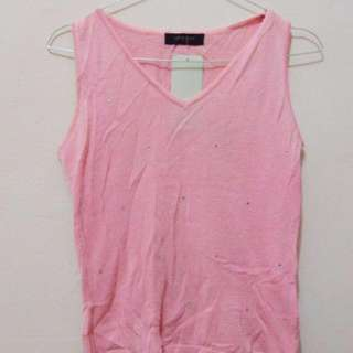 Jeweled Pink Vest