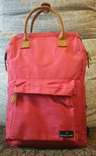 Charming Red Backpack
