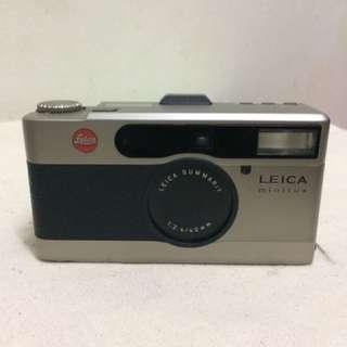 LEICA minilux rangefinder summarit 40mm f/2.4