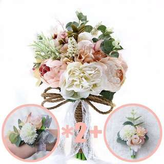 Wedding flowers 🌺 photo shoots or home deco suitable pink elegant sweet tone corsages