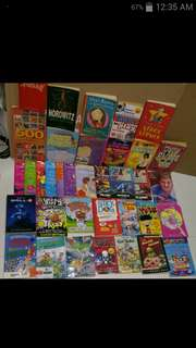 Box 4 part 1b Young children books easier to read varying standard / level interesting reads