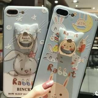 Iphone  得意兔仔連同款支架