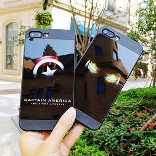 iphone iPhoneX case 手機殻 亮面軟殼 多款 Spider Man superman