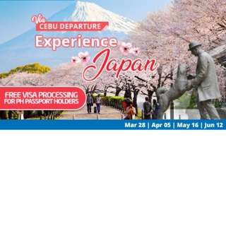 JAPAN ALL-IN PACKAGE VIA CEBU FLIGHT