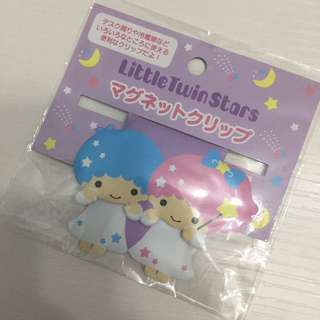 Sanrio Little Twin Star 磁石bookmark包郵