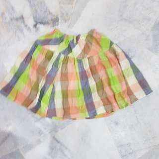Skirt kembang Budak *PRELOVED*