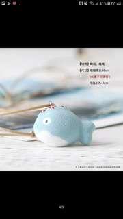 【件件8蚊】陶瓷魚仔頸鏈小魚項鍊吊飾