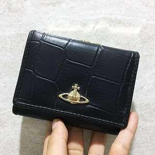 Vivienne Westwood 皮革三折錢包 短夾
