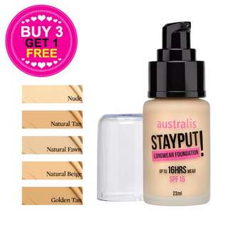 💖 Australis Stayput Foundation