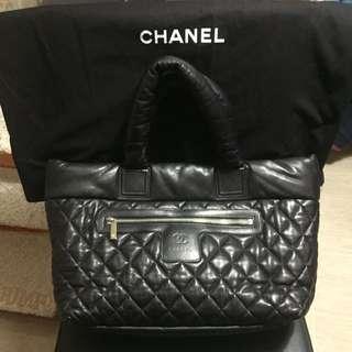 Chanel Coco全真皮大袋