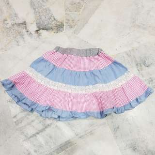 Skirt kembang Budak ❤PRELOVED❤