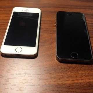 2 iphone 5s (32gb)