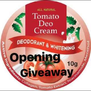Ig opening giveaway