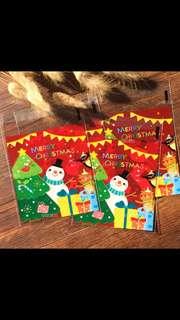 NEW Christmas Cookie/Gift Bag (Snow Man Design) - 100pcs