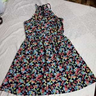 floral dress (New Look)