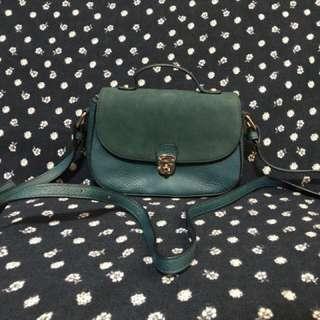 Accessorize Green Shoulder Bag