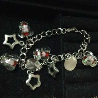 Imported Stainless Charm Bracelet
