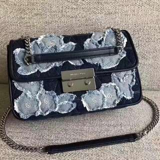 Michael Kors Single Shoulder Bag Denim