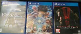 PS4 Assorted Games