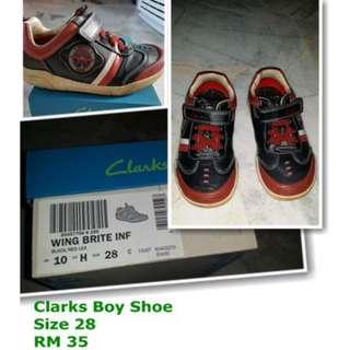 Clarks Boy Shoe
