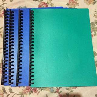 Lot Of 4 Clearbook