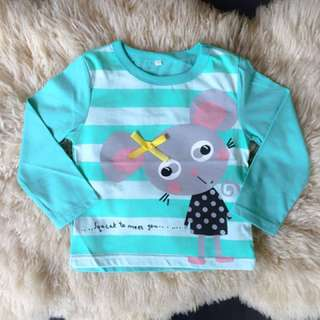 Girl's Longsleeve Shirt