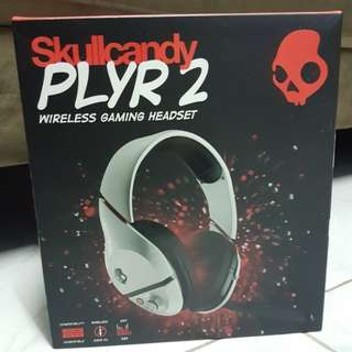 Skullcandy PLAR 2 WIRELESS GAMING HEADSET 無線耳筒(Compatible 適用於XBOX 360,PS3,PC)