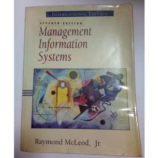 Management Information Systems (Prentice Hall 7th International Edition) Raymond McLeod JR.