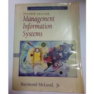 Management Information Systems (Prentice Hall 7th International Edition) Raymond McLeod JR.