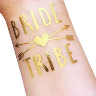 Team bride tattoo