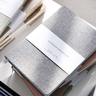 [PO] Solid Fabric Hardcover Notebook