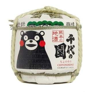[熊本熊] 日本開運酒樽 1.8L